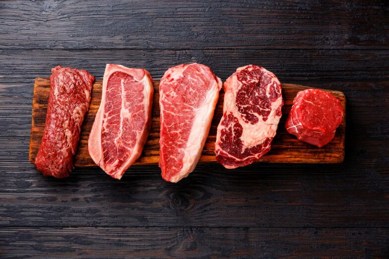 magert kött exempel