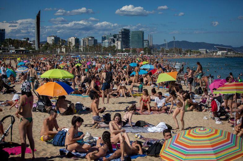 Spanien Oppnar For Turister Redan Om En Vecka