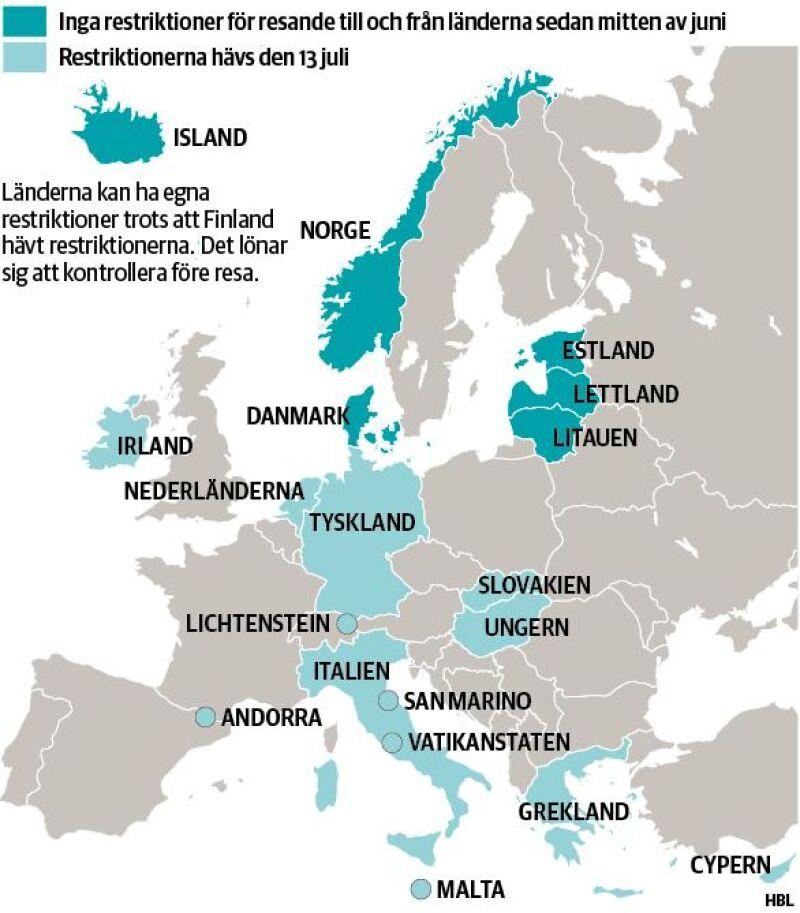 Grekland Lockar Finlandare Trots Coronapandemin Nastan Alla Av Sommarens Paketresor Slutsalda