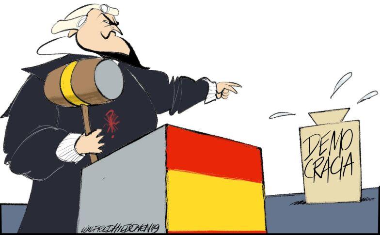 Insandare I Dag Avgors Framtiden For Spaniens Demokrati