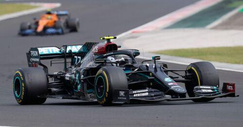 Bottas trea i Ungerns GP