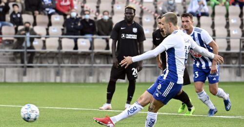 HJK vidare i EL-kvalet - Sparv gjorde debut